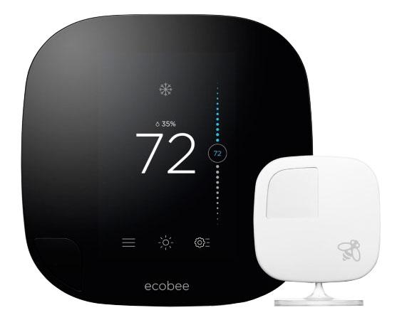 [Ecobee]Ecobee EB-STATE3-02 스마트 WiFi  냉난방 룸 써머스타트