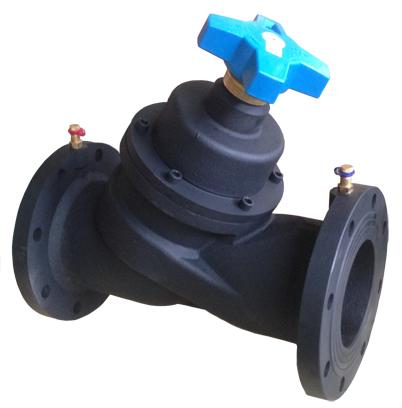[ATI]VBF43.191C-DIN,  125A 수동 발란싱 밸브,주철플렌지식(DIN)/16Bar